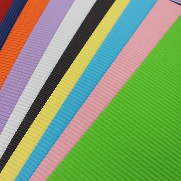 A4瓦楞紙 紙面瓦楞板 精美牌 (混色)/一包10張入{定80} 210mm x 297mm
