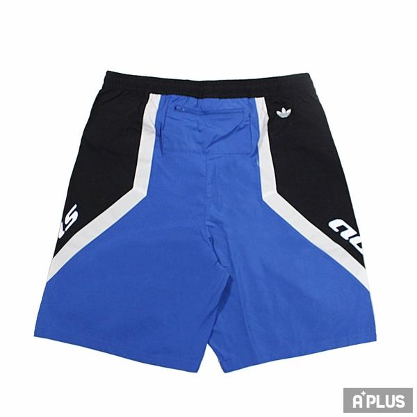 ADIDAS 男 休閒短褲 TGP SHORTS 1 黑藍 -HA4739