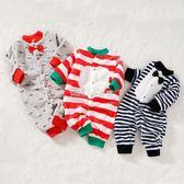 新生嬰兒珊瑚絨睡衣秋季男女寶寶哈衣保暖衣服秋裝連體衣秋冬套裝   走心小賣場