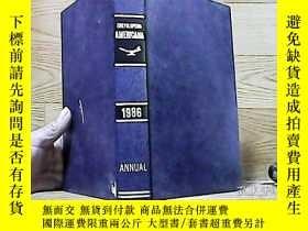 二手書博民逛書店THE罕見AMERICANA ANNUAL 1986Y10016