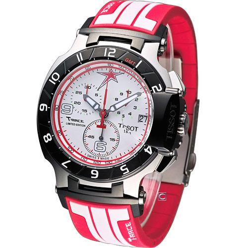 天梭錶 TISSOT T-RACE NICKY HAYDEN 限量競速計時腕錶 T0484172701700