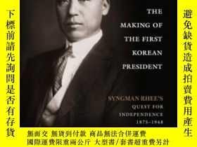 二手書博民逛書店The罕見Making Of The First Korean President-第一任韓國總統的產生Y43