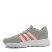 Adidas Lite Racer [B44653] 女鞋 運動 休閒 慢跑 灰 粉紅 愛迪達