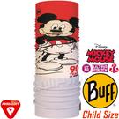 BUFF 121579_迪士尼授權-米老鼠 Child Polar兒童單面保暖頭巾 防風領巾/快乾圍巾/防寒帽/脖圍