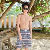 速干情侶沙灘褲韓夏季海邊度假居家五分短褲