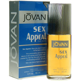 JOVAN SEX APPEAL FOR MEN 傑班魅力男性淡香水 88ml【七三七香水精品坊】