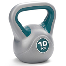 雙色壺鈴10KG 1800040 健身 運動 啞鈴 壺鈴 舉重 健身器材 重量訓練 體能訓練