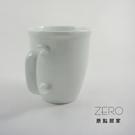 原點居家創意 雪白色馬克杯 咖啡杯 杯口加厚杯 360cc