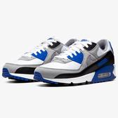 Nike Air Max 90 男鞋 慢跑 休閒 復古 氣墊 黑 藍 白【運動世界】CD0881-102