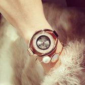新款熱銷手錶 錶滿鑽流沙水鑽時裝女錶《小師妹》yw103