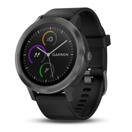 GARMIN vivoactive 3 行動支付心率智慧手錶(尊爵黑)