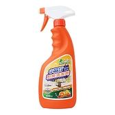 小綠人 小蘇打廚房清潔劑(柑橘) 500ml【新高橋藥妝】掃除必備品