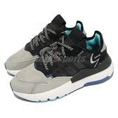 【海外限定】adidas 休閒鞋 Nite Jogger 黑 灰 3M反光 男鞋 女鞋 愛迪達 三葉草 【ACS】 EF5408