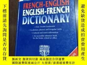 二手書博民逛書店french-english罕見&english -french