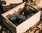 丹大戶外【Vanlife taiwan】生活美學 永不腐壞的木箱│VT摺疊木箱│蔬果箱│木紋收納箱