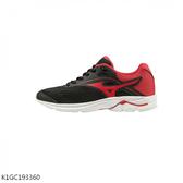 Mizuno Wave Rider 23 Jr [K1GC193360] 大童 慢跑鞋 運動 休閒 輕量  緩衝 黑紅