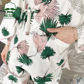 日式和服睡衣女家居服套裝公主風