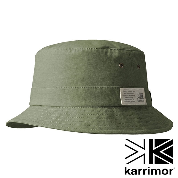 【karrimor】Grab hat 抗UV 防潑水 漁夫帽『卡其綠』100681 戶外 休閒 運動 露營 登山 吸濕 排汗 快乾