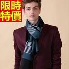 針織圍脖拼色大方-羊毛毛線英倫風秋冬保暖圍巾10色64t3【巴黎精品】