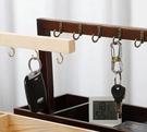 玄關門口鞋柜掛鑰匙客廳創意擺件
