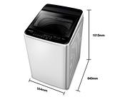 《Panasonic 國際牌》11公斤 單槽直立式洗衣機 NA-110EB-W