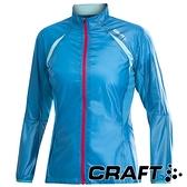 【瑞典CRAFT】女 PR輕量防潑水外套-『亮藍』運動│機能衣│外套│吸濕排汗│乾爽透氣 1900629