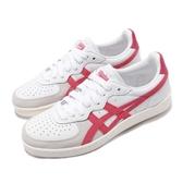 Asics 復古休閒鞋 GSM 白 紅 經典配色 女鞋 基本款 【PUMP306】 1182A076102
