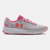 UNDER ARMOUR UA Charged Pursuit 2 女鞋 慢跑 輕量 透氣 緩震 舒適 粉灰【運動世界】3022604-102
