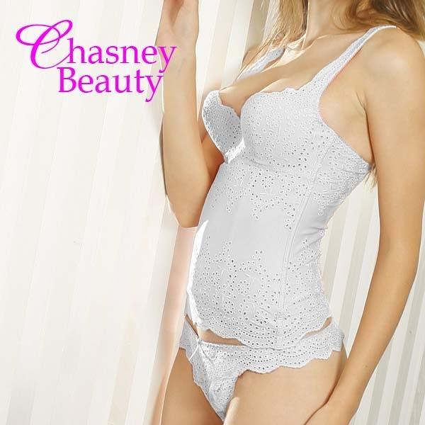 Chasney Beauty-NG商品純棉馬甲(白、粉)