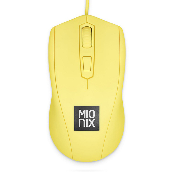 【MIONIX】Avior French Fries有線電競滑鼠 (薯條黃)