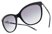 Tiffany&CO.太陽眼鏡 TF4131HB 81913C (深藍) 奢華璀璨晶鑽小花款 # 金橘眼鏡