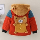 加絨加厚男童棉衣1-2-3-4-5歲寶寶棉襖外套6小孩冬裝保暖棉服童裝 快速出貨