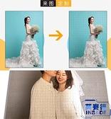 訂製木質1000片拼圖DIY相照片情侶送女生男生日禮物【英賽德3C數碼館】