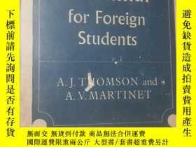 二手書博民逛書店APratial罕見English Grammar for Fo