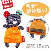 【毛麻吉寵物舖】GiGwi就是愛貓草-小灰鼠絨毛玩具