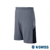 K-SWISS PF Shorts運動短褲-男-灰