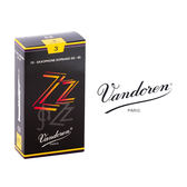 小叮噹的店- 法國 Vandoren SOPRANO ZZ 高音薩克斯風竹片 黑盒 10片裝S-ZZ