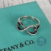 BRAND楓月 TIFFANY&CO. 蒂芬妮 經典 純銀 蝴蝶結 雙愛心 造型 寬戒 戒指 飾品 配件 925銀