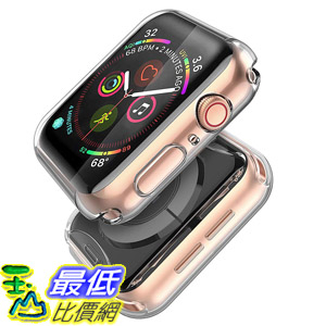[8美國直購] 保護套 (2 Pack) Langboom Case for Apple Watch Series 5 Series 4 40mm, Durable TPU Screen Protector B07TCFXVRT