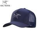 【ARC TERYX 始祖鳥 Polychrome LOGO網帽《夜月藍》】28096/棒球帽/鴨舌帽/遮陽帽/卡車帽