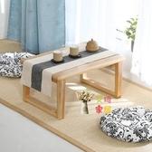 炕桌 飄窗小桌子實木榻榻米茶几簡約矮桌炕桌家用陽台日式地桌小矮桌子T
