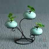 陶瓷花瓶花器青瓷家居客廳裝飾擺件工藝品【南風小舖】
