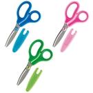 【Plus普樂士】兒童弧線剪刀(顏色隨機出貨)SC-145MF /支