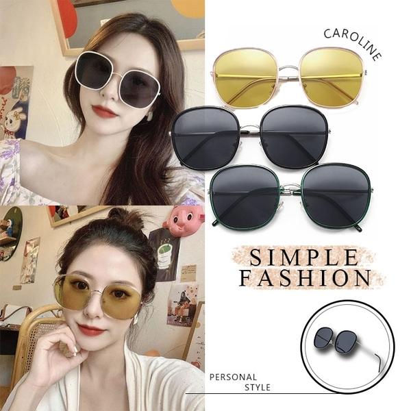 《Caroline》韓系質感熱門款網紅潮流太陽眼鏡72371