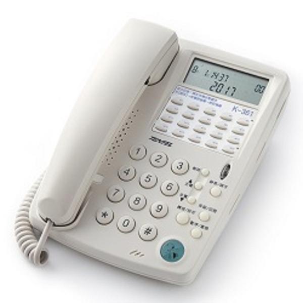國洋通信 室內電話機 K362 搭配 FHT100 行銷電話耳機單耳套組 當日出貨