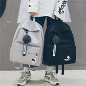 書包女韓版原宿ulzzang 高中學生校園雙肩包潮流簡約帆布軟妹背包