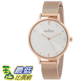 [104美國直購] Skagen 女士手錶 Women s SKW2151 Anita Quartz 3 Hand Stainless Steel Rose Gold Watch $6620