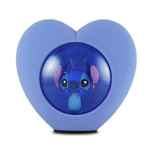 正版 Disney迪士尼 史迪奇 LED USB心型小夜燈 床頭燈 擺飾燈 公仔擺飾 COCOS BB500