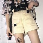 工裝短褲女日繫中性夏天2019年網紅顯瘦pphome褲子waitmo 【四月上新】
