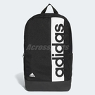 adidas 後背包 Linear Performance Backpack 黑 白 男女款 基本款 【PUMP306】 S99967